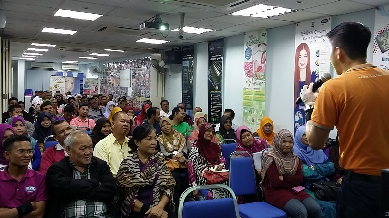 Taklimat di MXB International HQ, KL